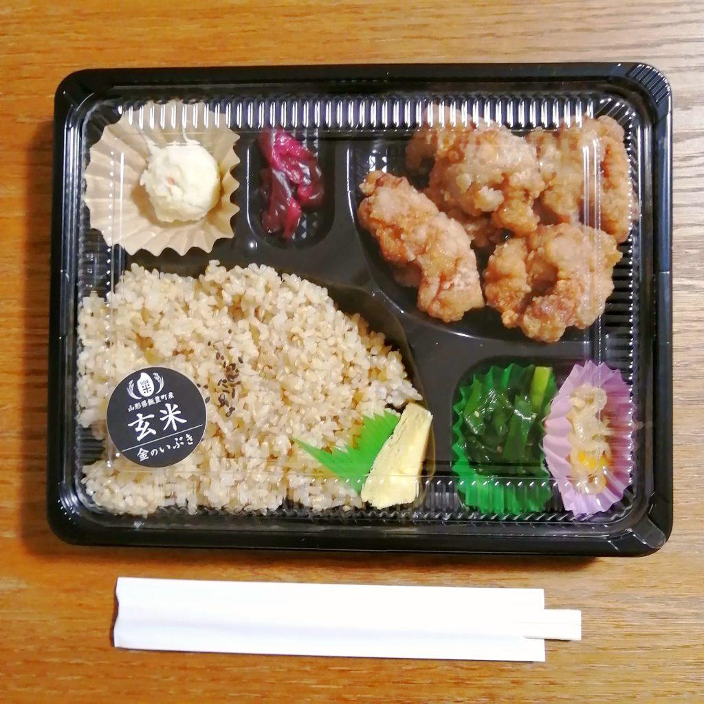 高円寺テイクアウト「IIDE」塩麴漬け国産鶏の唐揚げ弁当