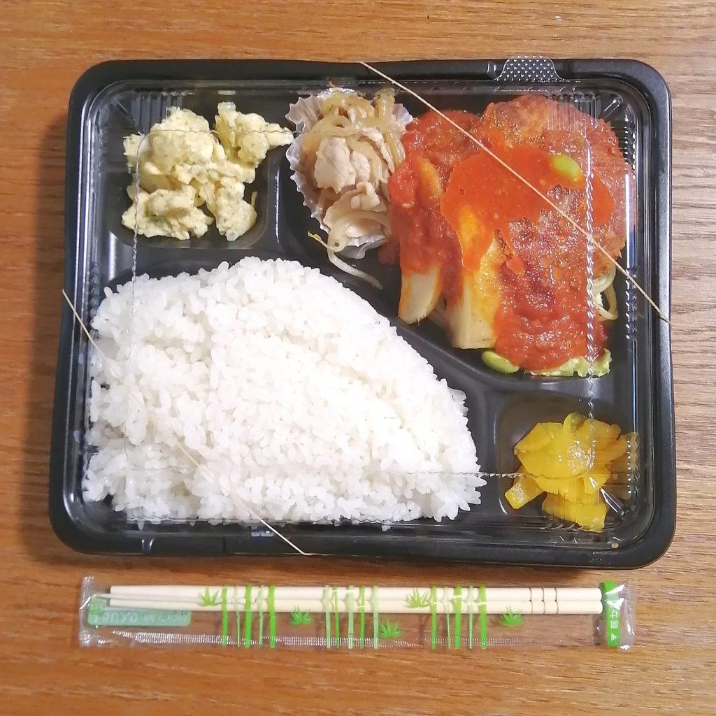 高円寺テイクアウト「煮込み酒場253」煮込みハンバーグ弁当