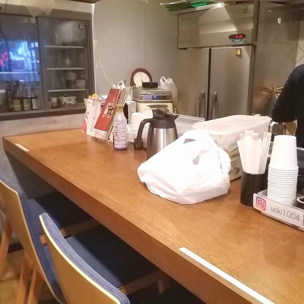新高円寺テイクアウト「魚き食堂」店内