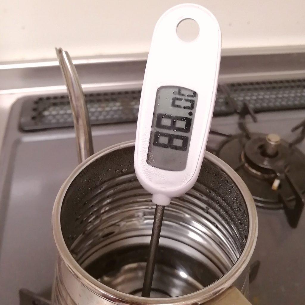 岩手・盛岡コーヒー豆「機屋」抽出の湯温