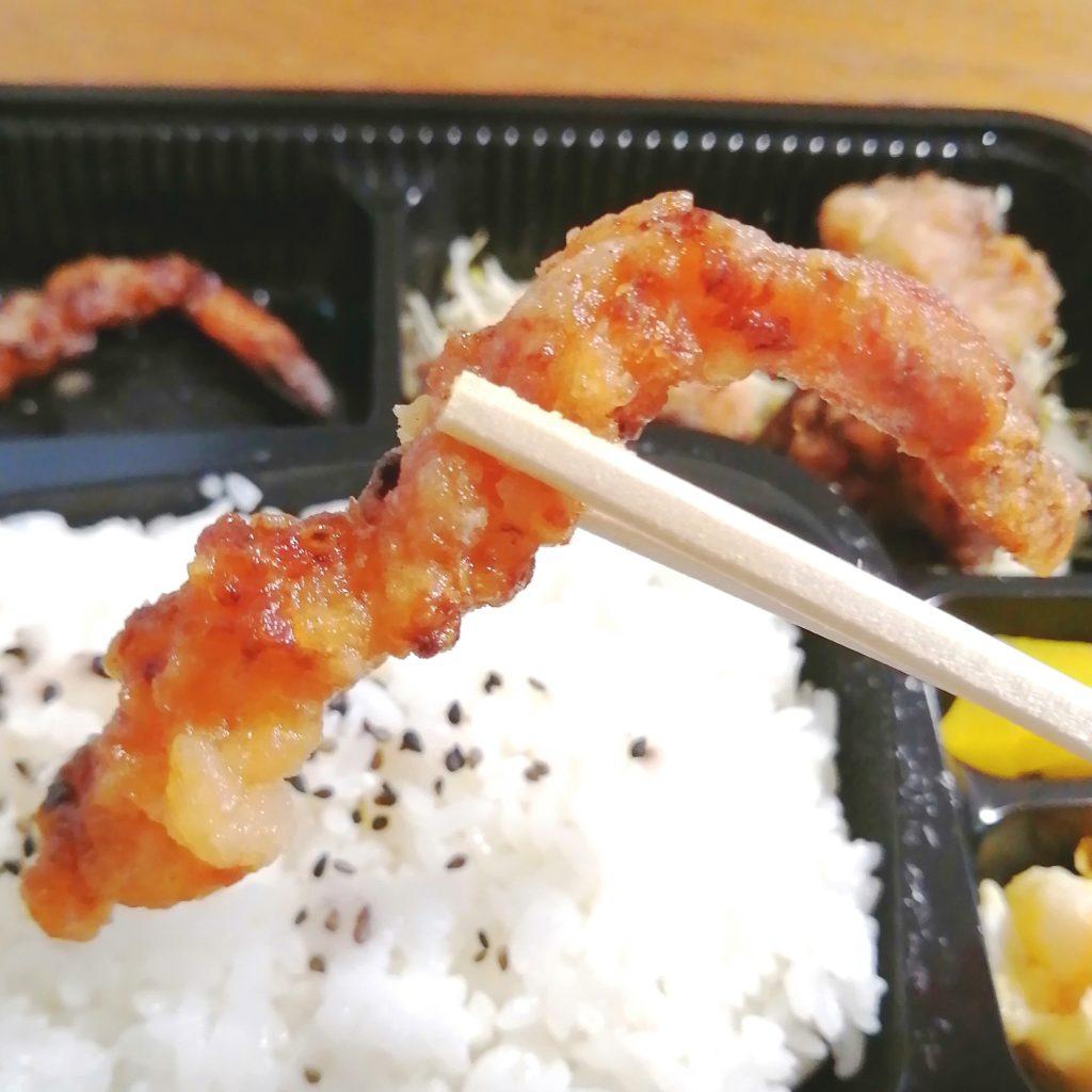 高円寺テイクアウト「ことぶきや」北海道のザンギ弁当・エビ実食