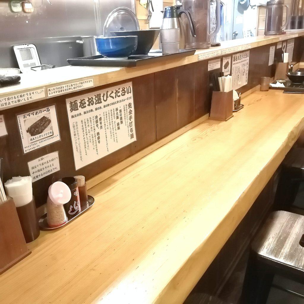 高円寺テイクアウト「とこ井」綺麗な店内カウンター