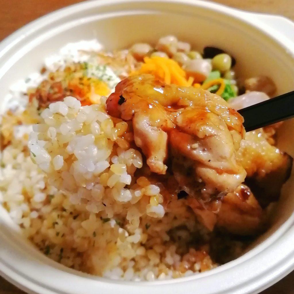 高円寺テイクアウト「ドッグベリー」テリヤキチキン弁当・テリヤキチキン実食