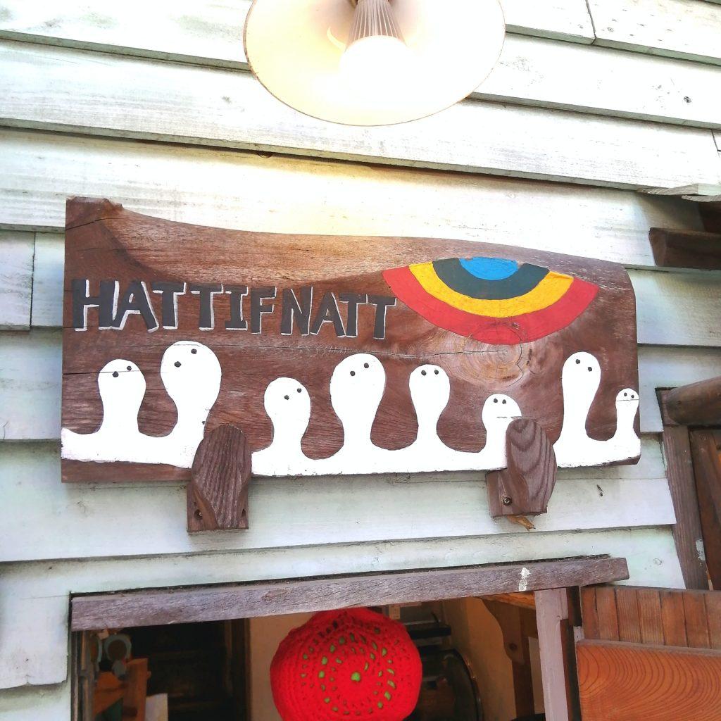 高円寺テイクアウト「ハティフナット」ハティフナットの看板