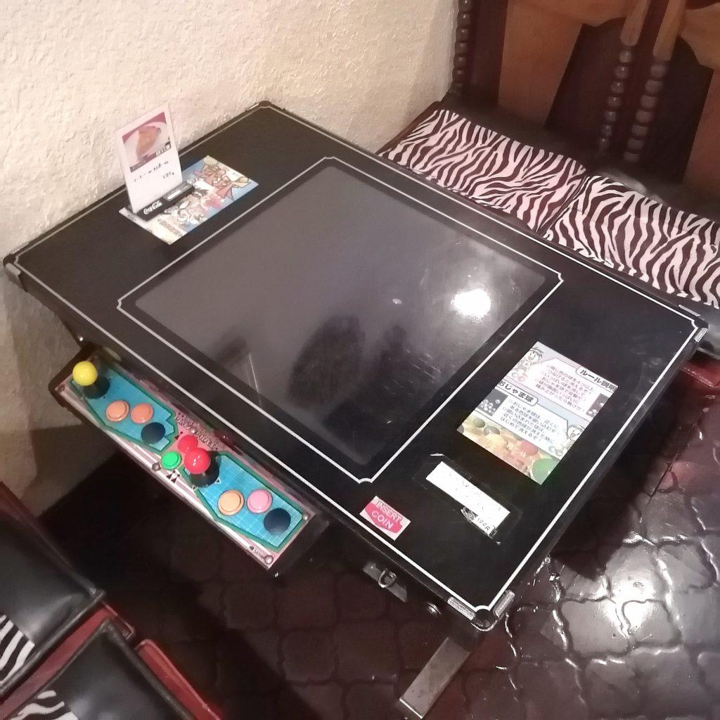 高円寺テイクアウト「カフェテラスごん」アーケードゲーム席