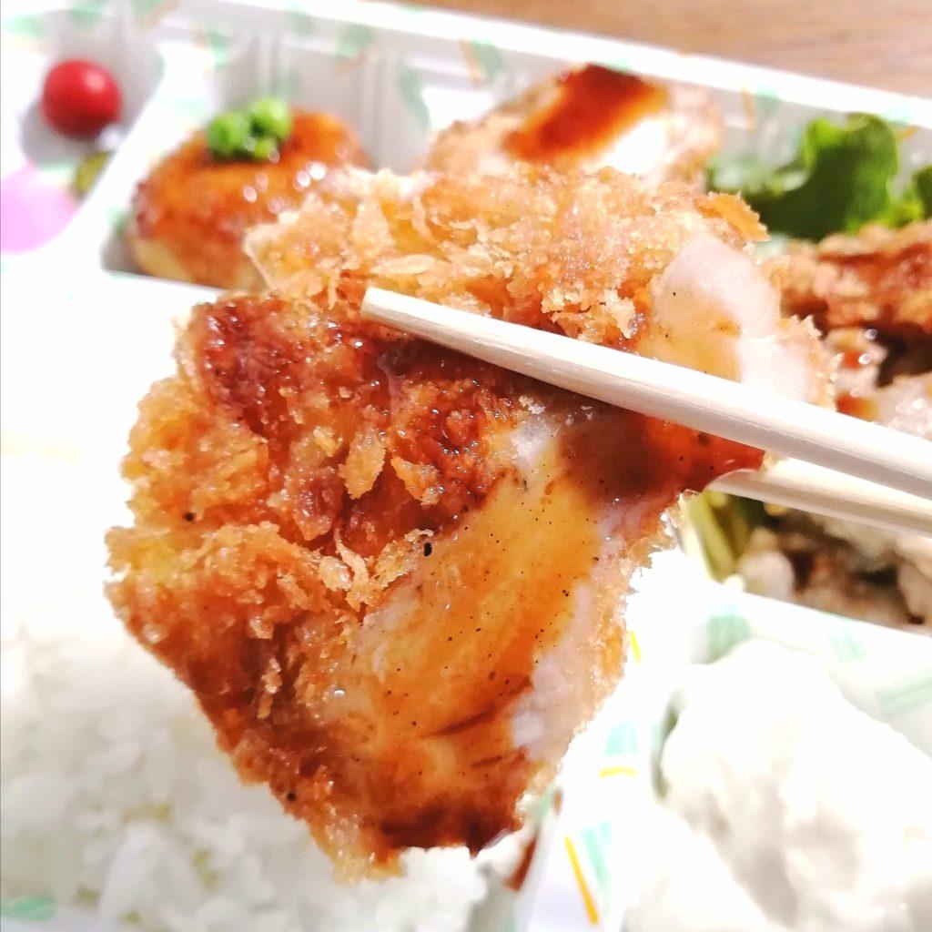 新高円寺テイクアウト「亀屋」チキンカツ・豚の生姜焼き弁当・チキンカツ実食