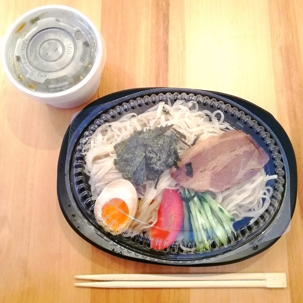 高円寺駅前テイクアウト「火の鳥73」特製ざる冷やし