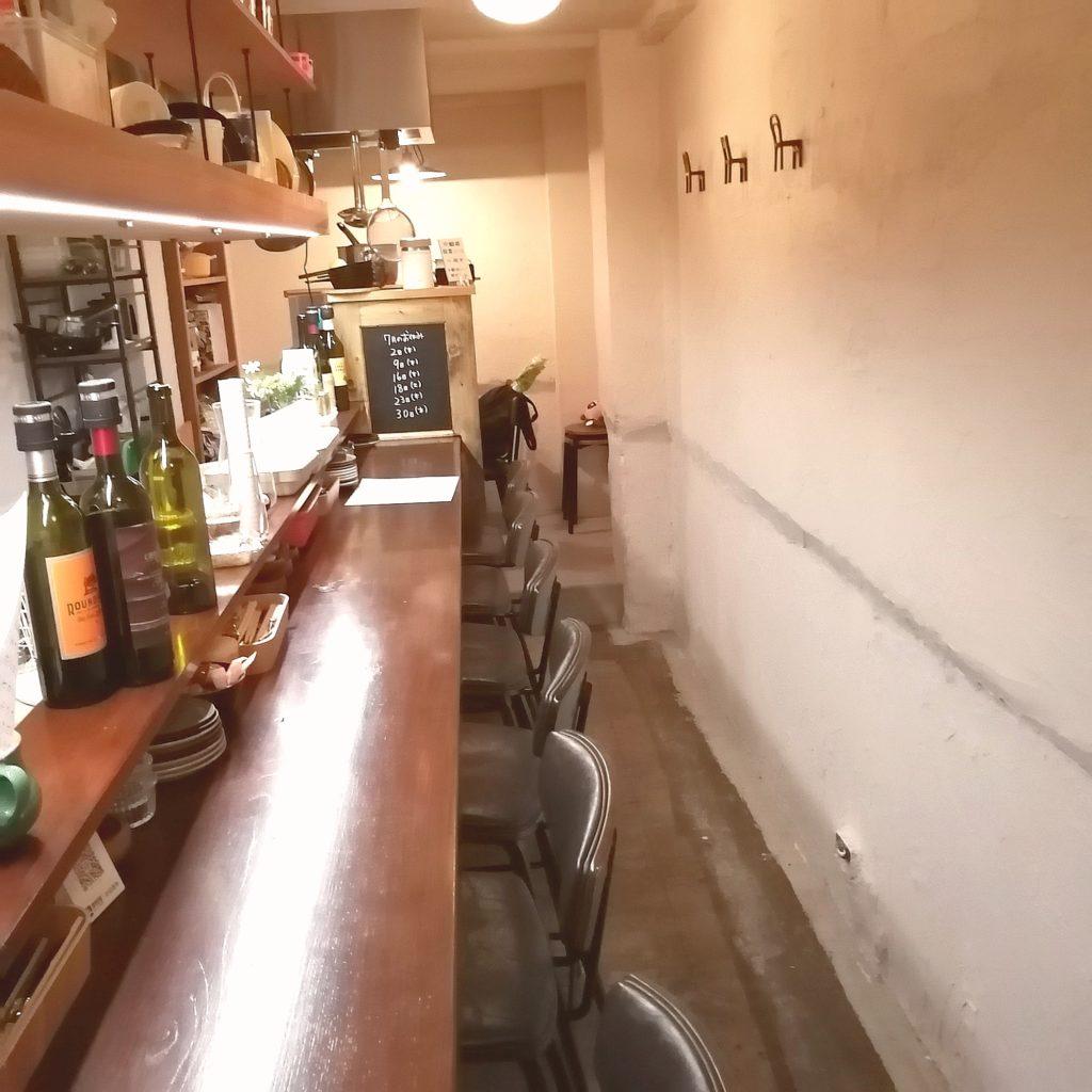高円寺テイクアウト「BisTro Sucre」店内
