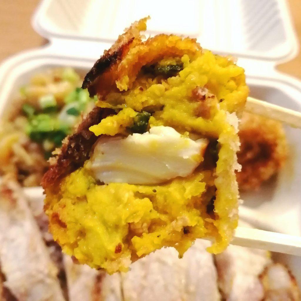 高円寺テイクアウト「BisTro Sucre」豚ロース味噌漬け弁当・かぼちゃとスモークチーズのコロッケ