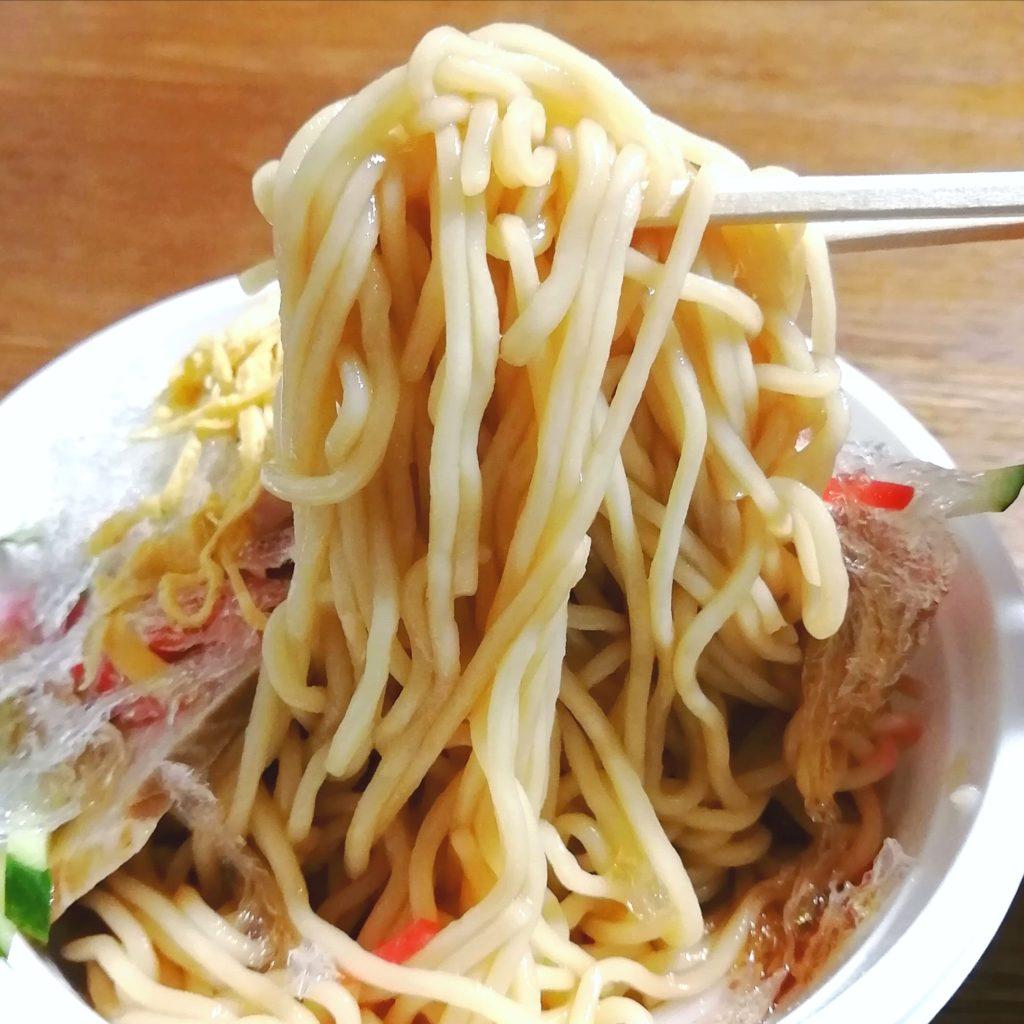 新高円寺テイクアウト「登龍園」冷やしチャーシュー麵・実食