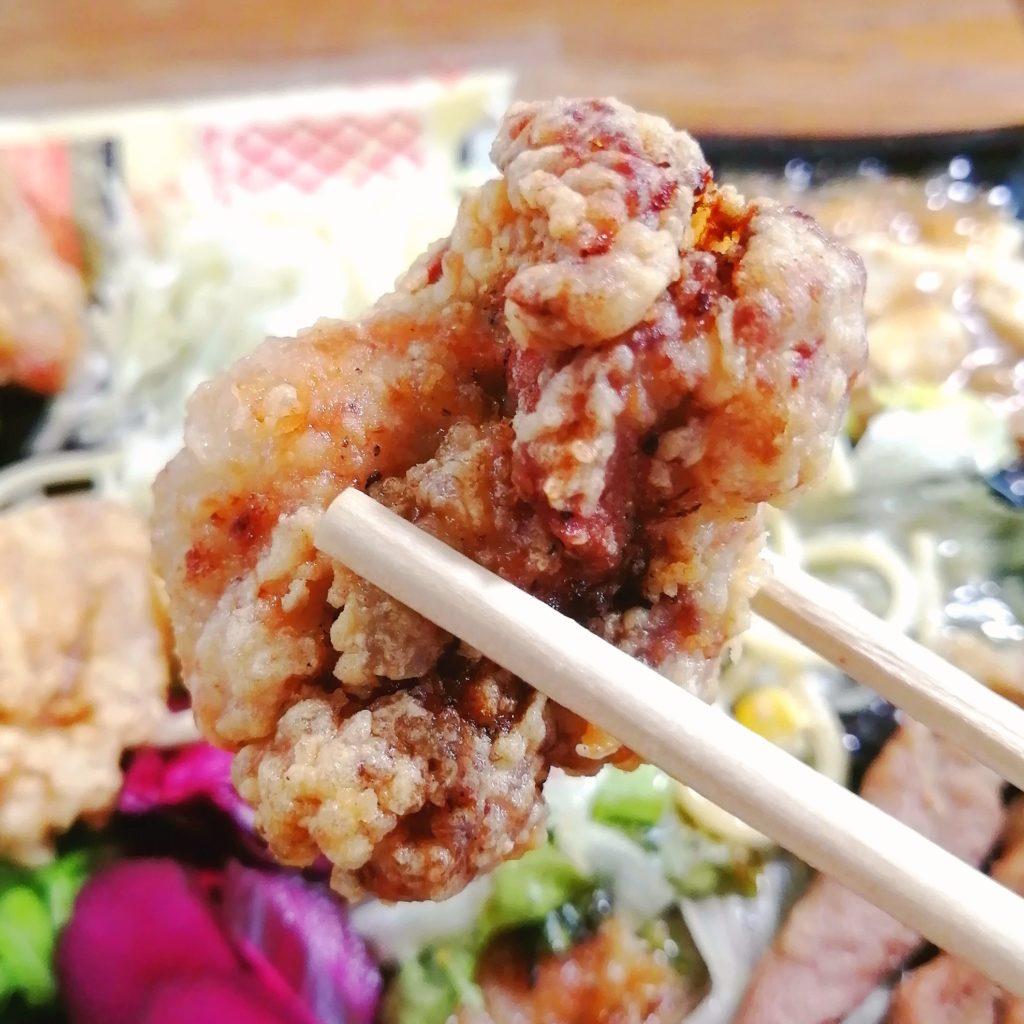 新高円寺駅前テイクアウト「北彩亭」手作り弁当・地鶏の唐揚げ