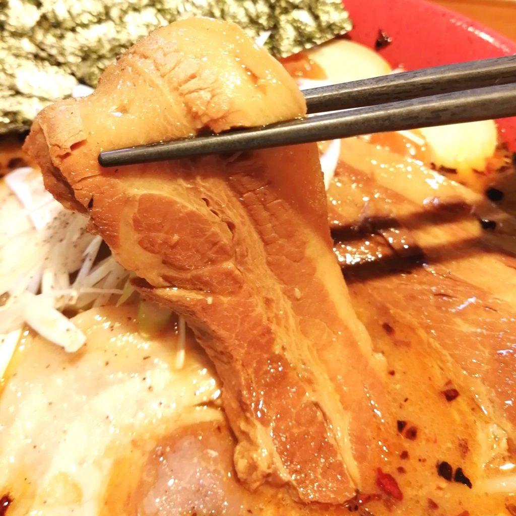 高円寺駅前ラーメン「火の鳥73」火の鳥辛口味噌ラーメン・まる得トッピング・トロトロ角煮