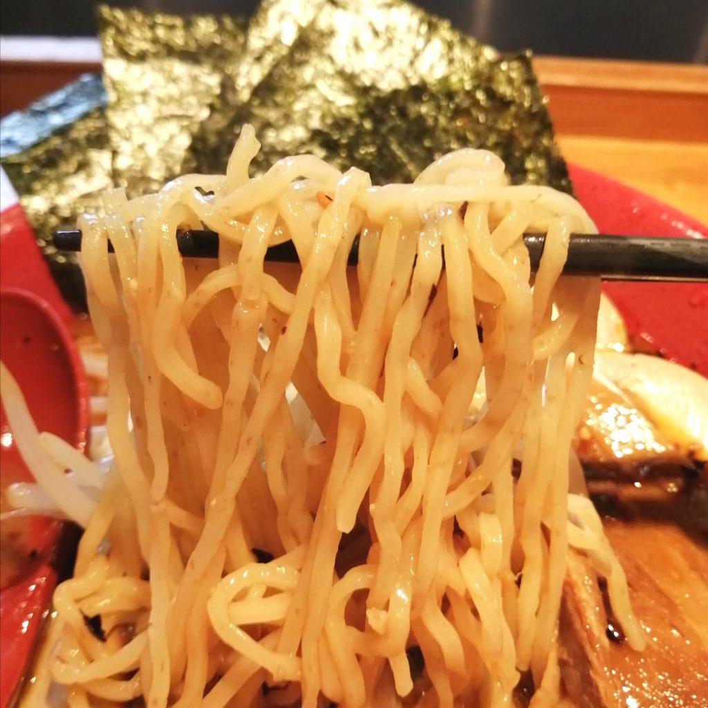 高円寺駅前ラーメン「火の鳥73」火の鳥辛口味噌ラーメン・麺