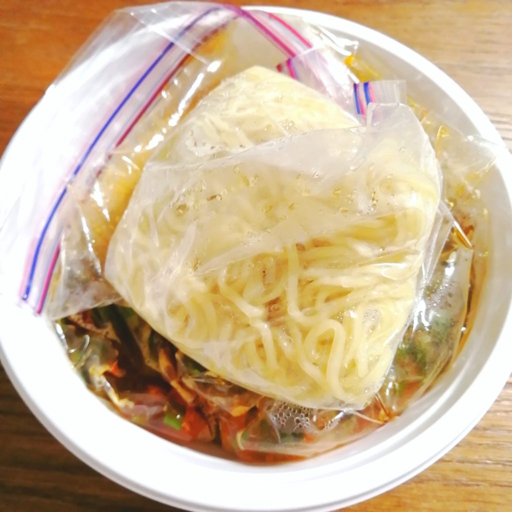 高円寺テイクアウト「じもん」勝浦式タンタン麺・保存方法
