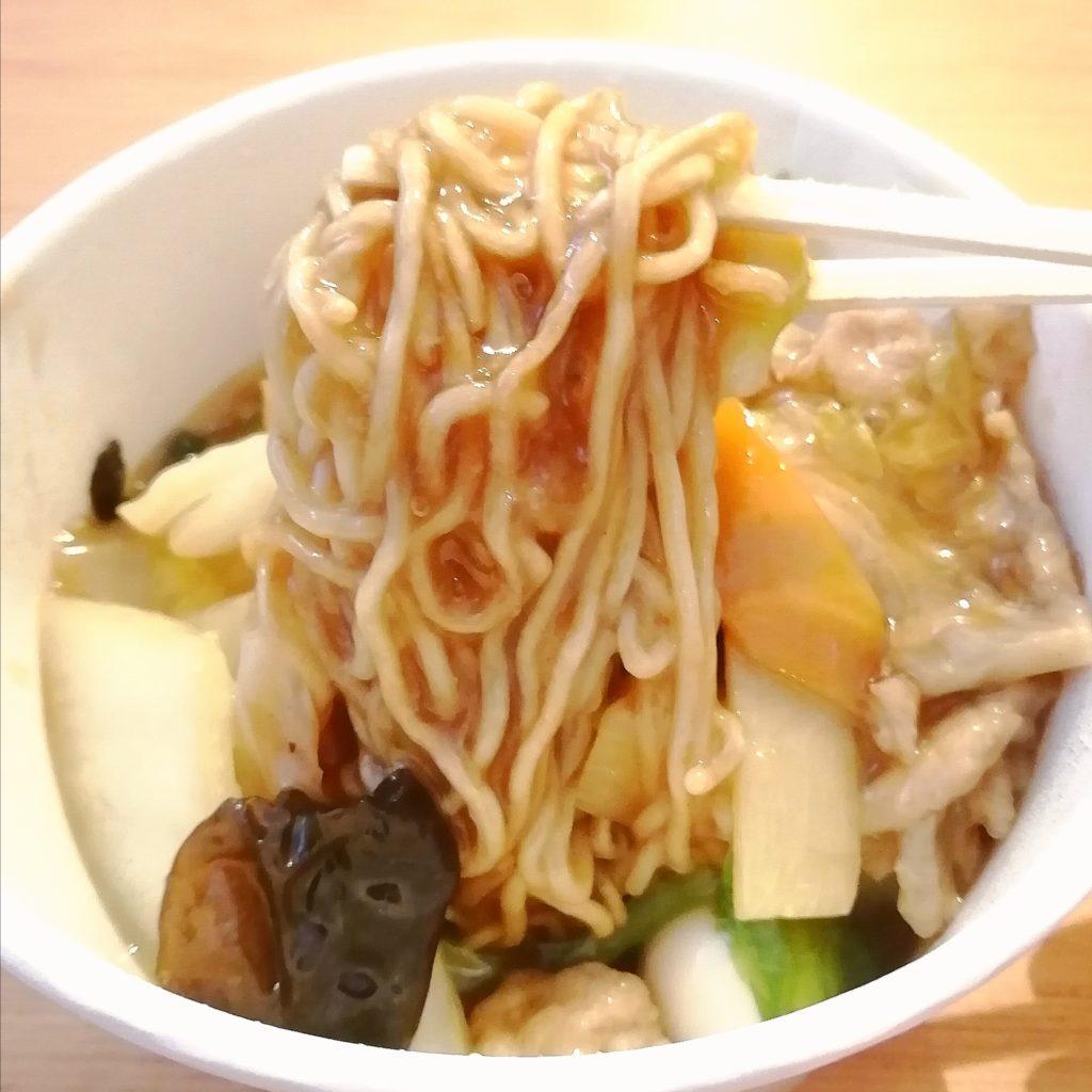 高円寺中華テイクアウト「太陽軒」五目焼きそば・実食