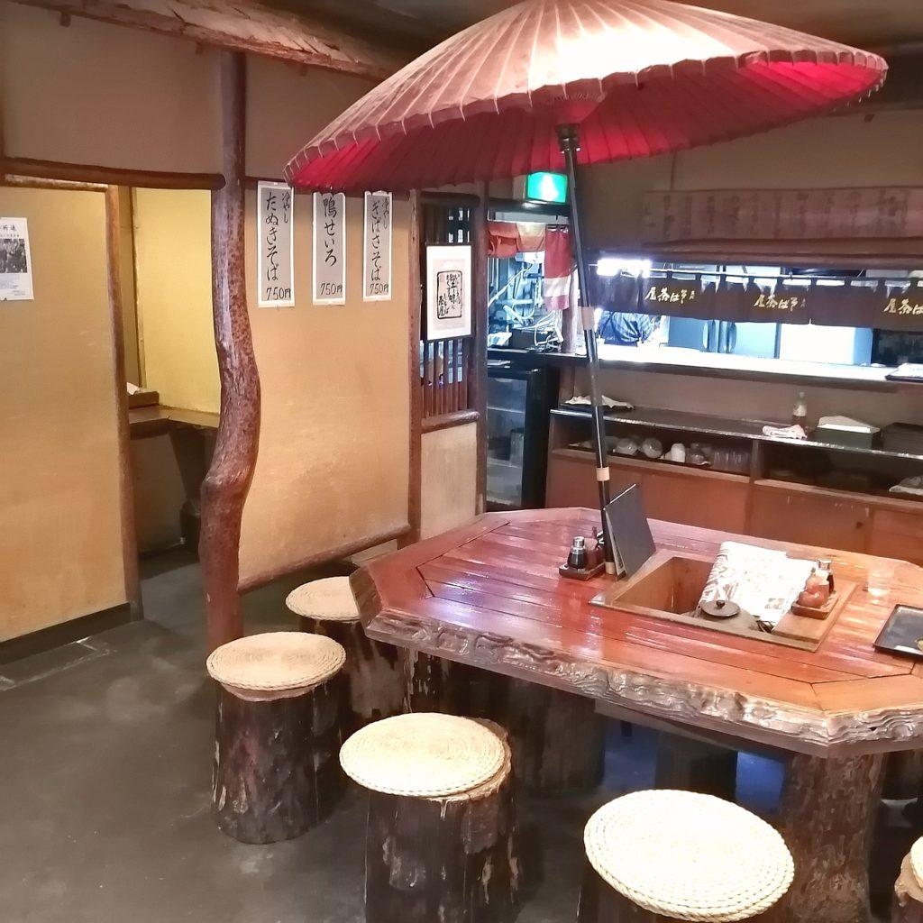 高円寺蕎麦「そば茶屋」店内