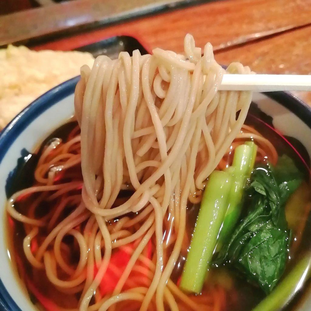 高円寺蕎麦「そば茶屋」そば茶屋定食・お蕎麦