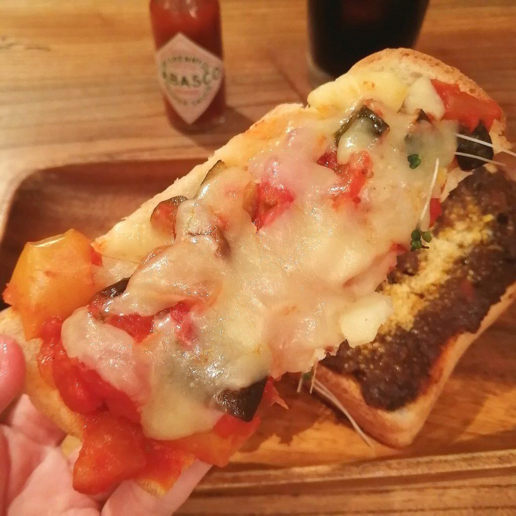 高円寺トースト「ノラや」三色トースト・トマト