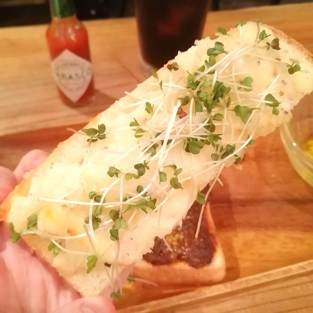 高円寺トースト「ノラや」三色トースト・ポテト
