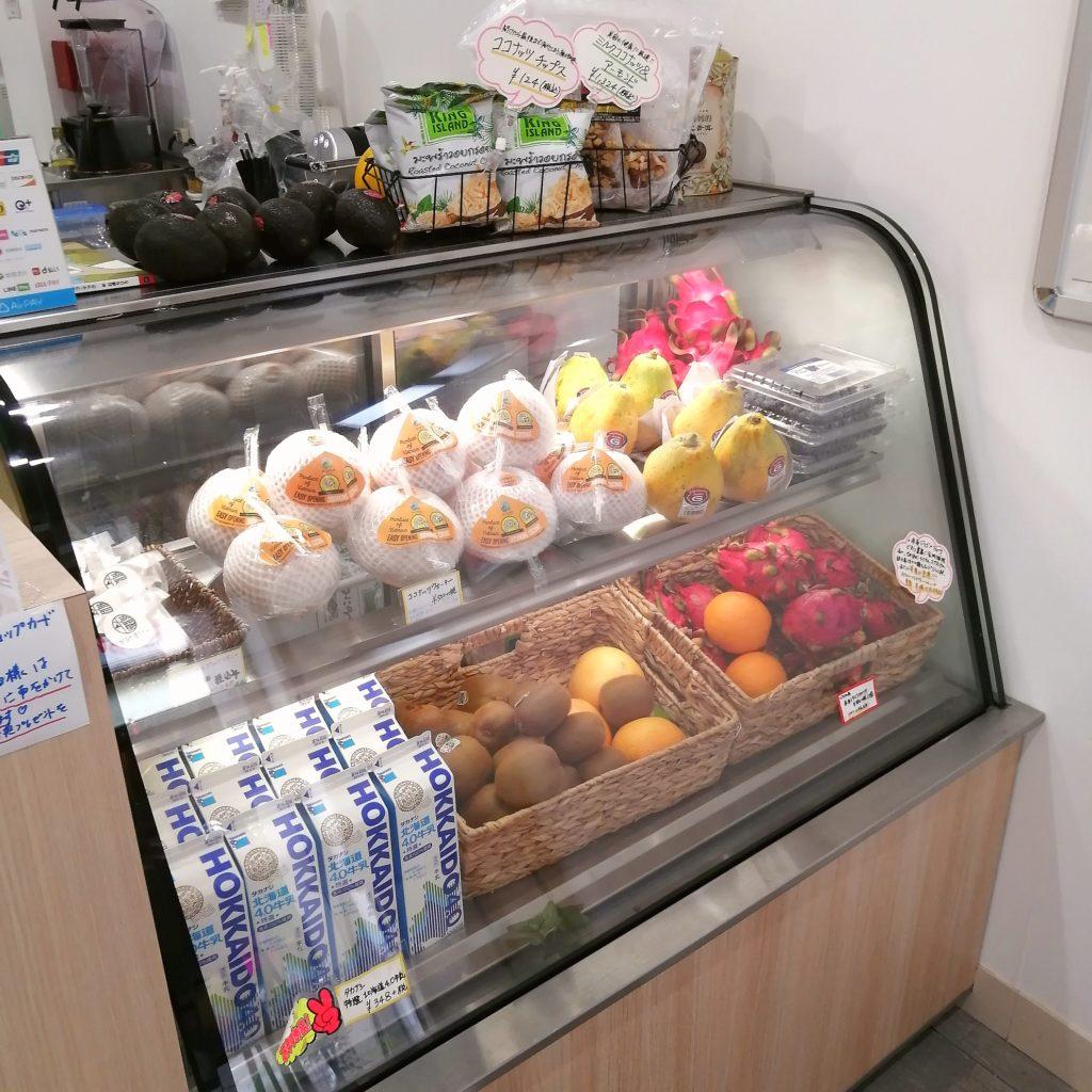 高円寺スイーツ「吉酪」冷蔵ケース