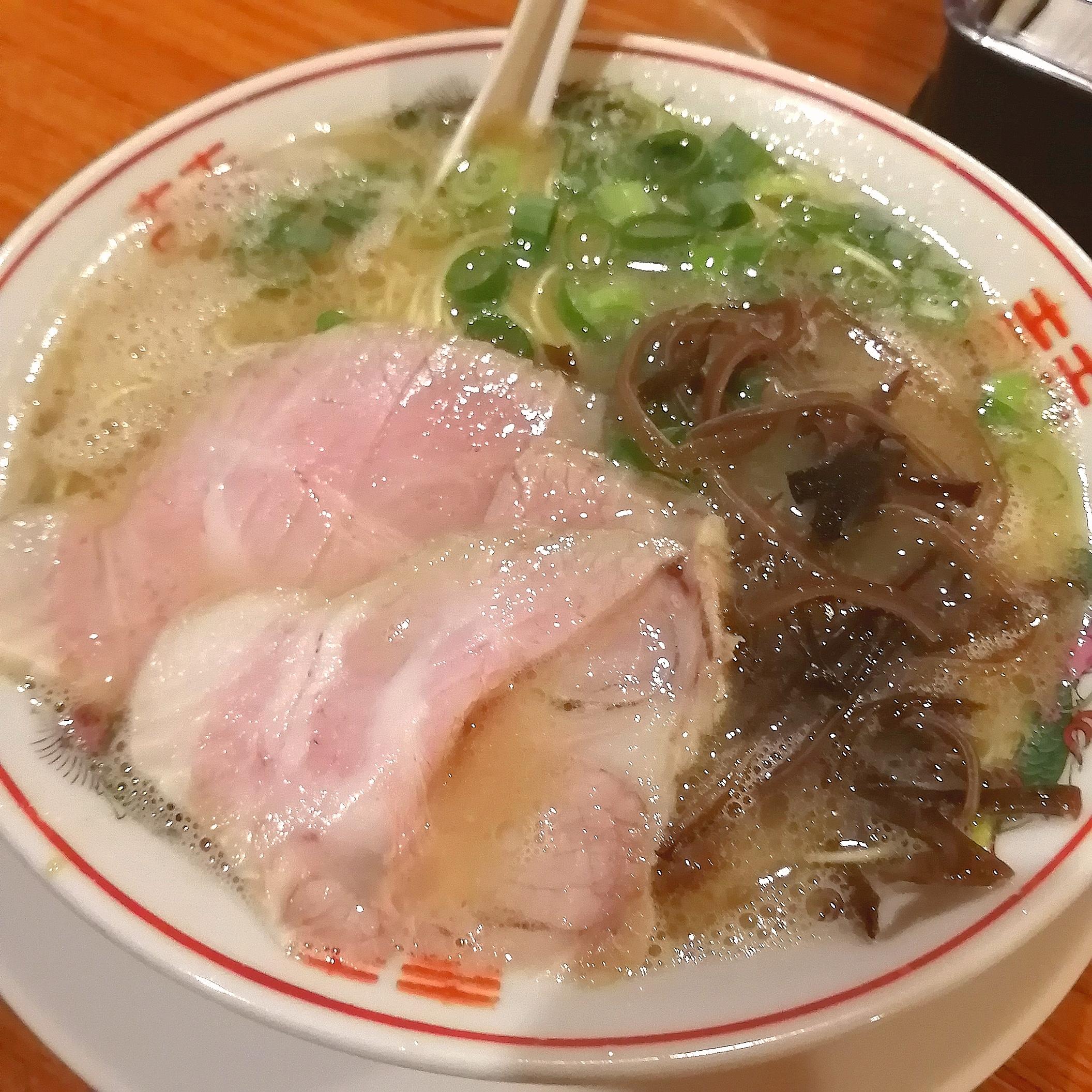 中洲屋台健太・長浜ラーメン
