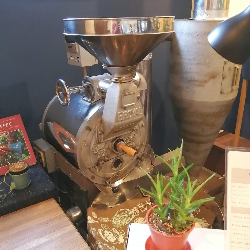 大阪豊中コーヒー「Basic珈琲」焙煎機
