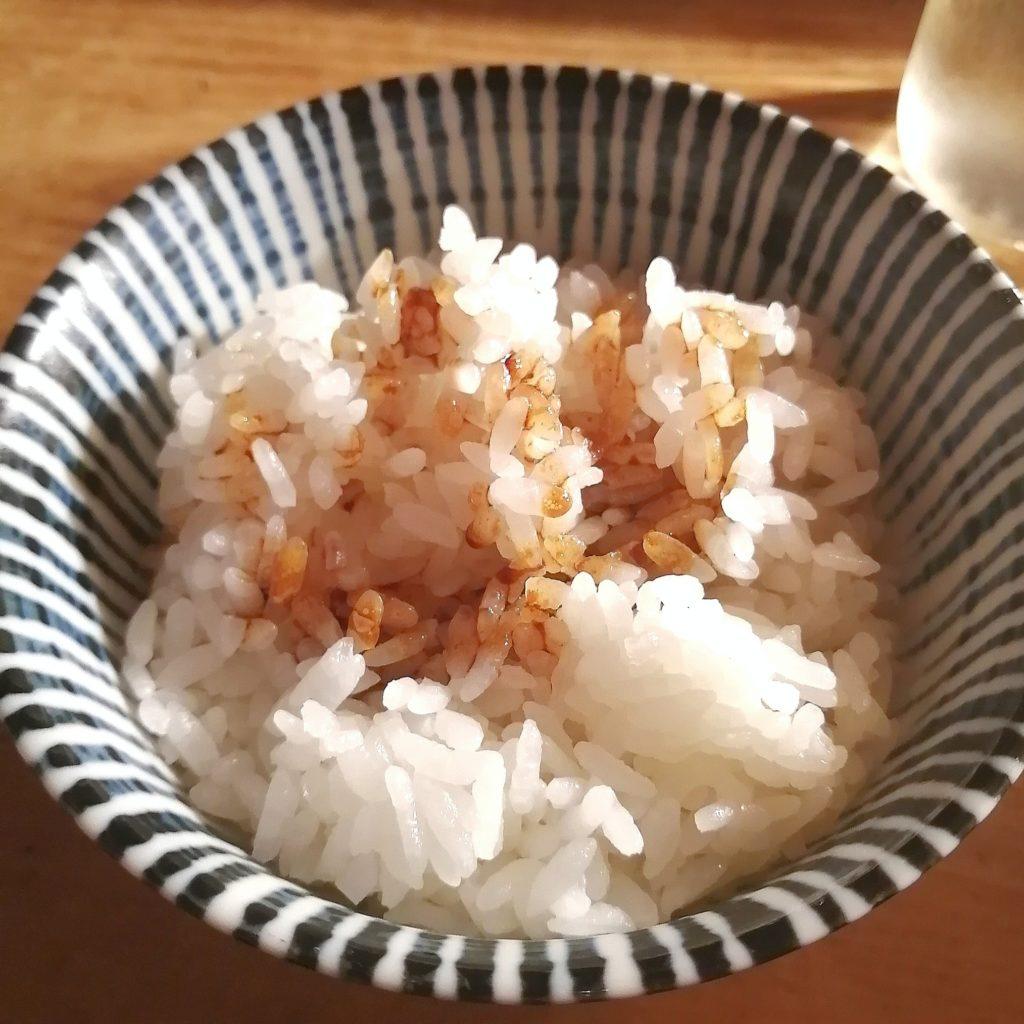高円寺油そば「焼貝 あぶさん」煮干しルーロー花椒油そば・追い飯