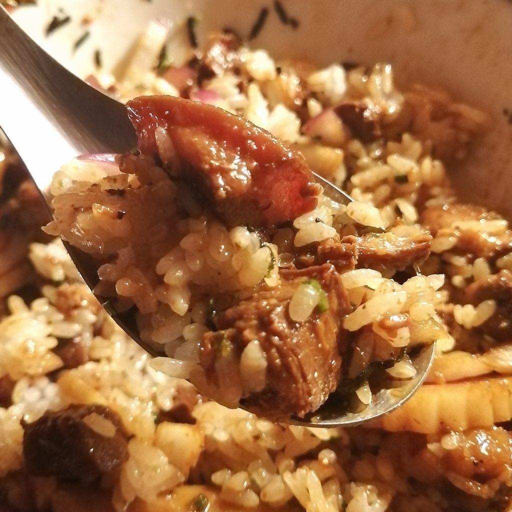 高円寺油そば「焼貝 あぶさん」煮干しルーロー花椒油そば・追い飯実食