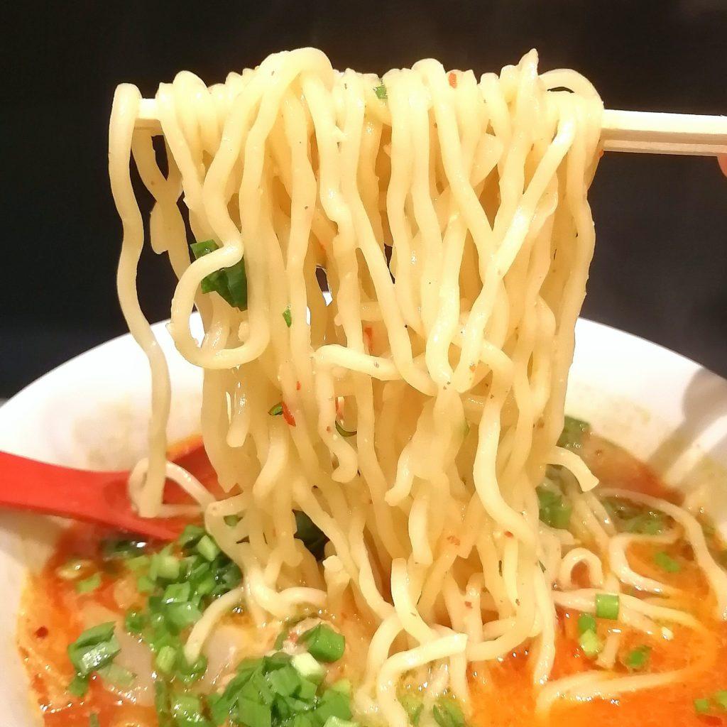 高円寺ラーメン「じもん」勝浦式タンタンメン・麺