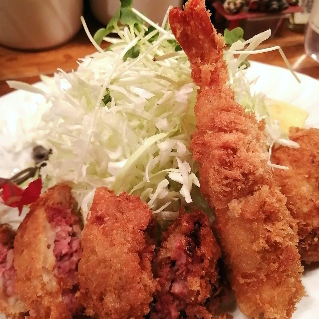高円寺洋食「グルメハウス薔薇亭」ばらセット定食・山盛りキャベツ