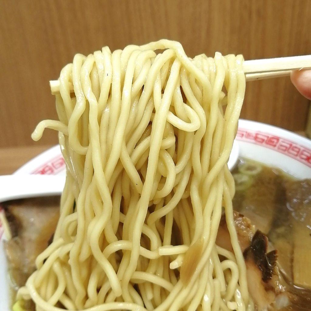 新高円寺ラーメン「甲斐」味玉チャーシュー麵・麺