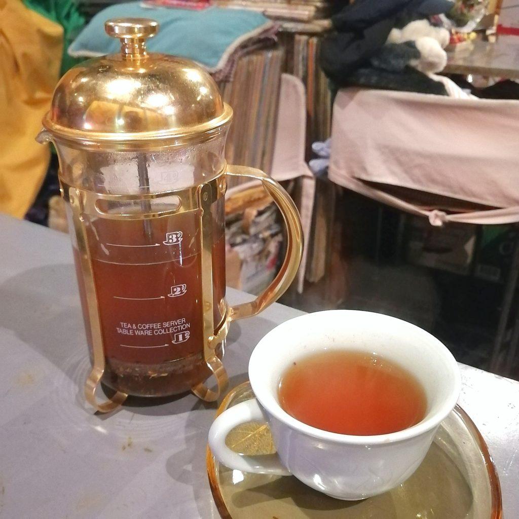 高円寺アジア料理「バーミィー」アーティチョークのお茶