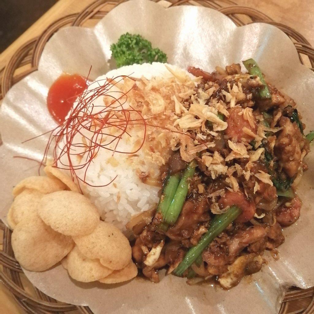 高円寺インドネシア料理「SUB store」ナシギラ