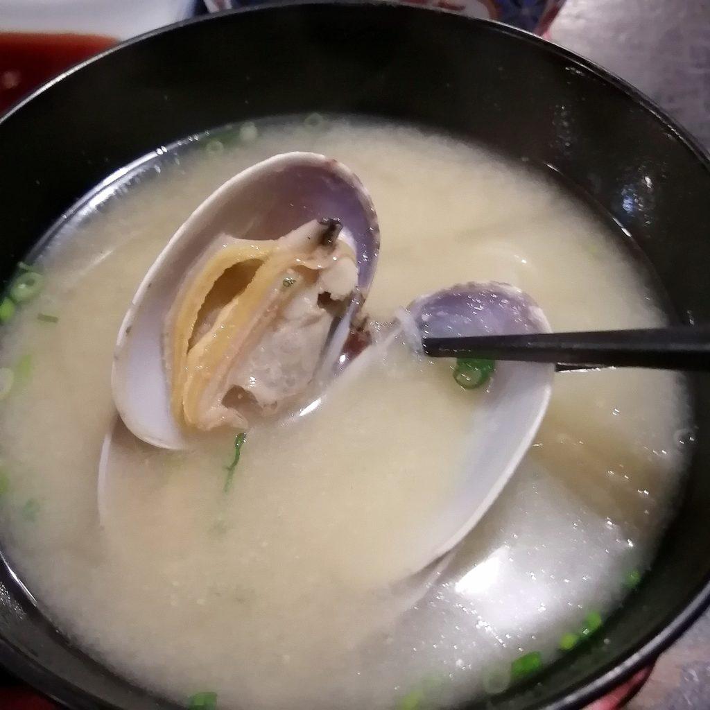 高円寺お刺身「極楽屋」アサリのお味噌汁