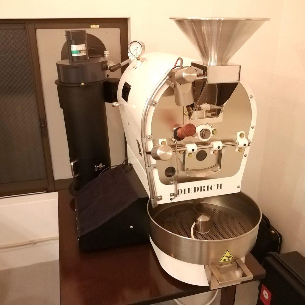 高円寺カフェ「MÖWE COFFEE ROASTERS(メーヴェコーヒーロースターズ)」業務用焙煎機ディードリッヒ2.5kg