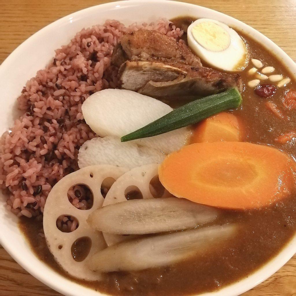高円寺カレー「168厨房」薬膳カレー