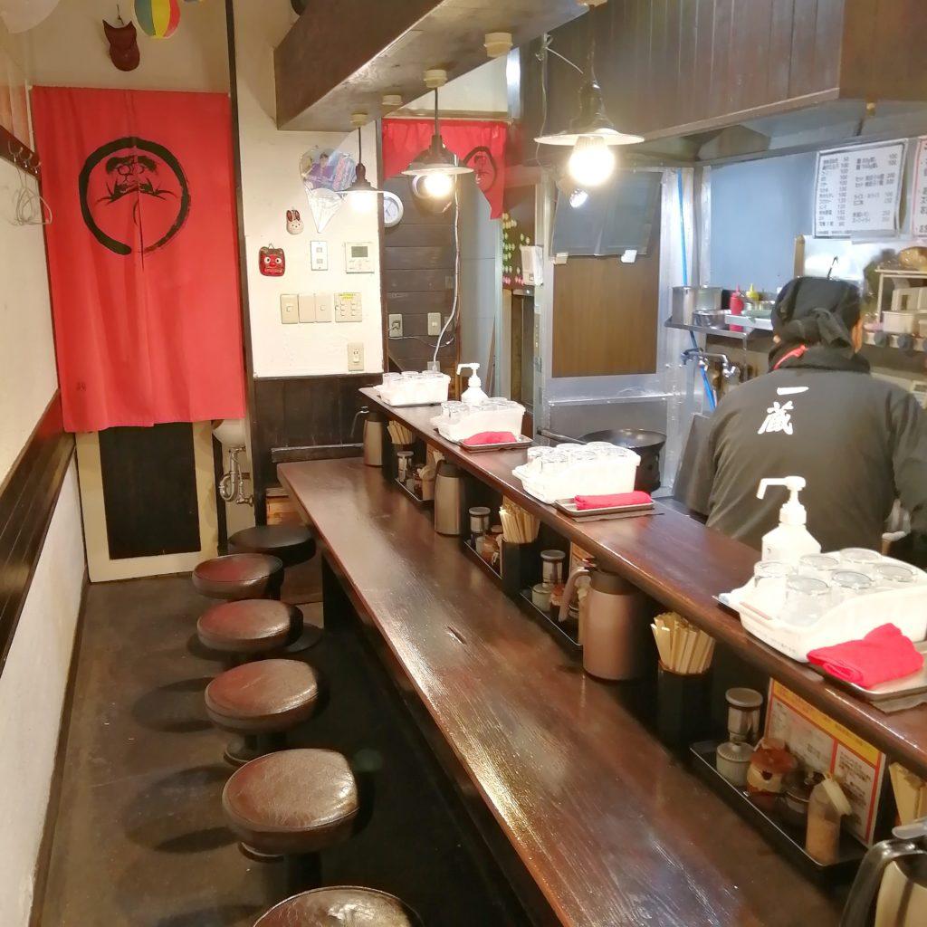 高円寺ラーメン「一蔵(いちぞう)」店内