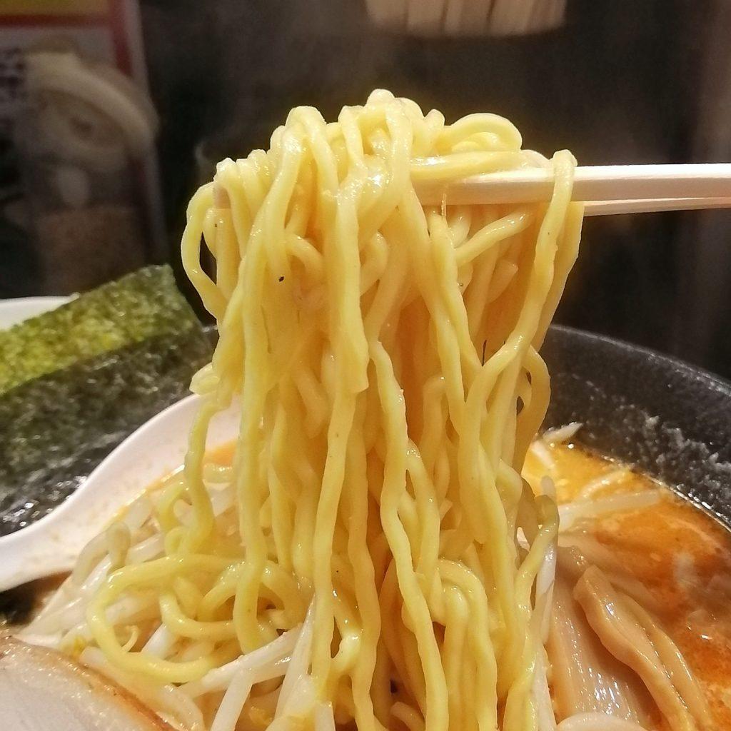 高円寺ラーメン「一蔵(いちぞう)」赤鬼らーめん・麺