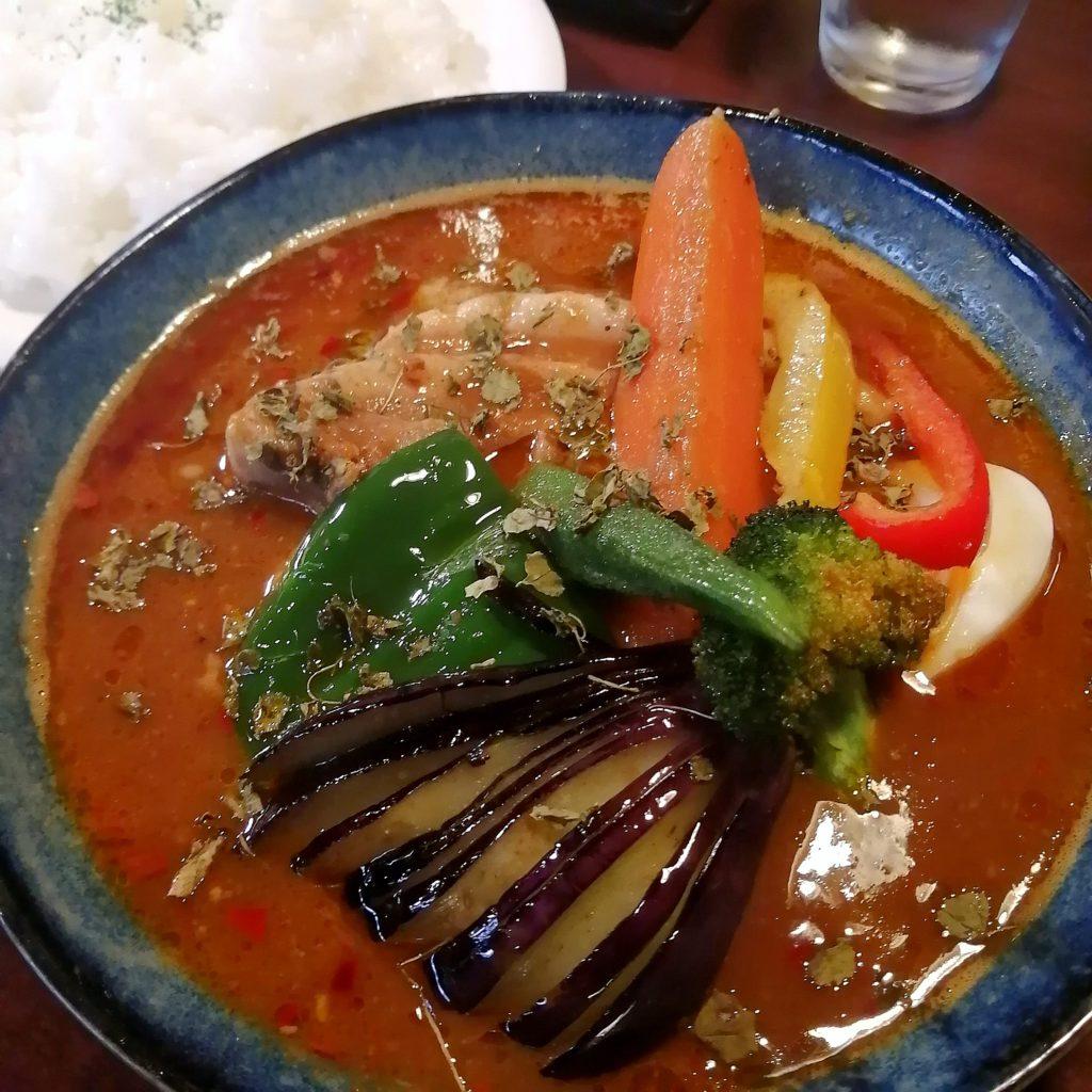 高円寺間借りカレー「ニューチェック」豚野菜カレー
