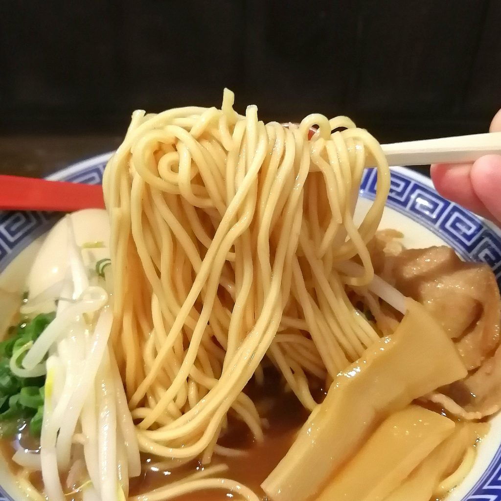 高円寺ラーメン「中華そばJAC」JACそば・麺