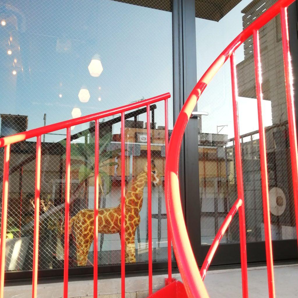 高円寺おでん「スタンド hacco」お店がある3階