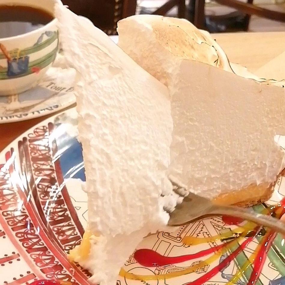 高円寺カフェ「Café de Nicole」タルトシトロンメレンゲを実食
