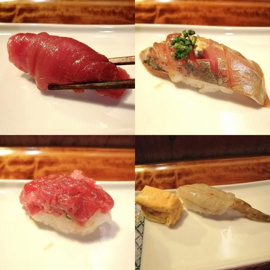 高円寺お寿司「シャン寿司」お寿司コース2