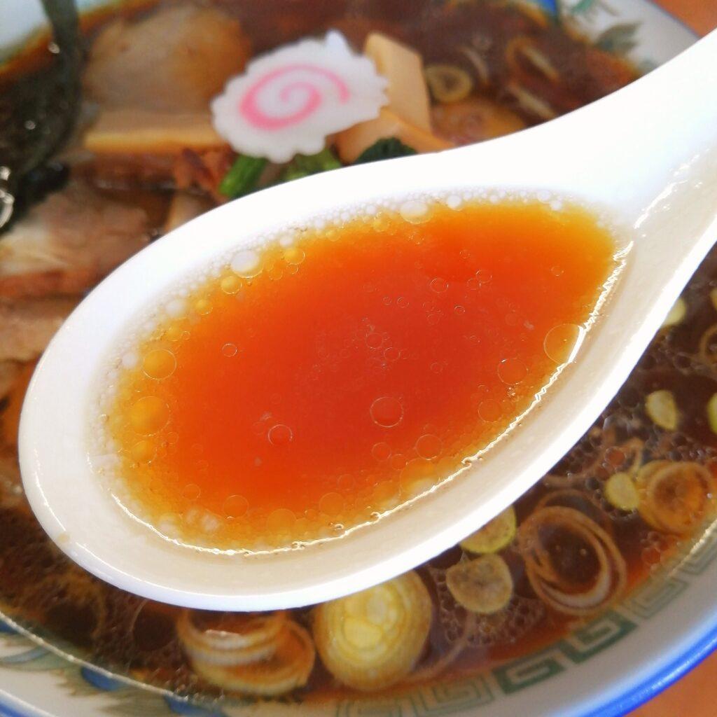 高円寺ラーメン「麵屋かむい」チャーシュー麵・スープ